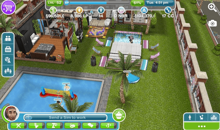 The Sims Freeplay Mobile yang mirip The Sims