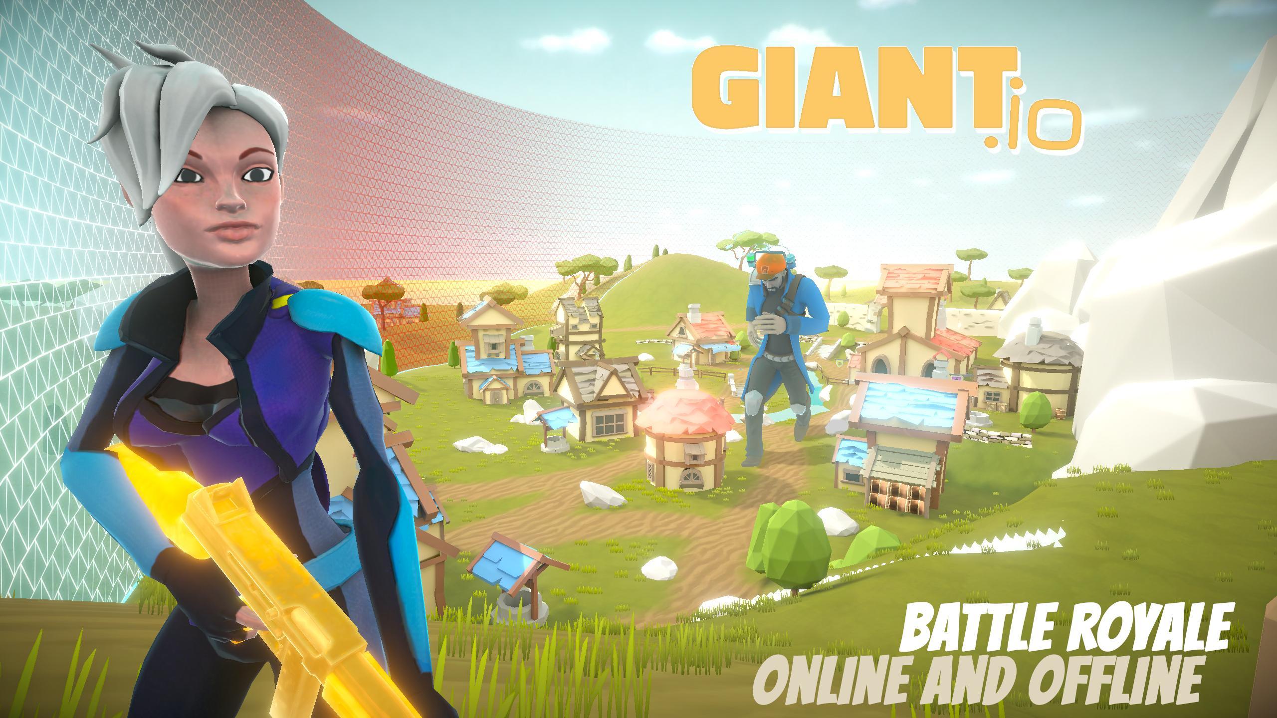 game mirip pubg offline-giant.io