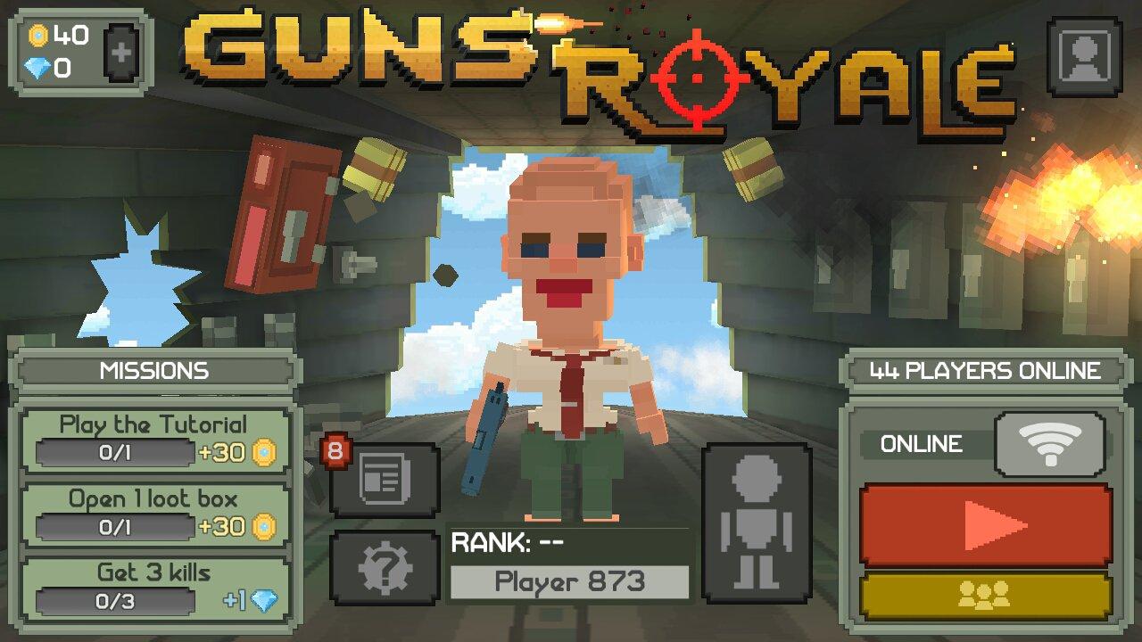 5 game mirip pubg offline-guns royale
