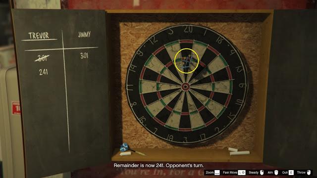 cara bermain darts di gta 5