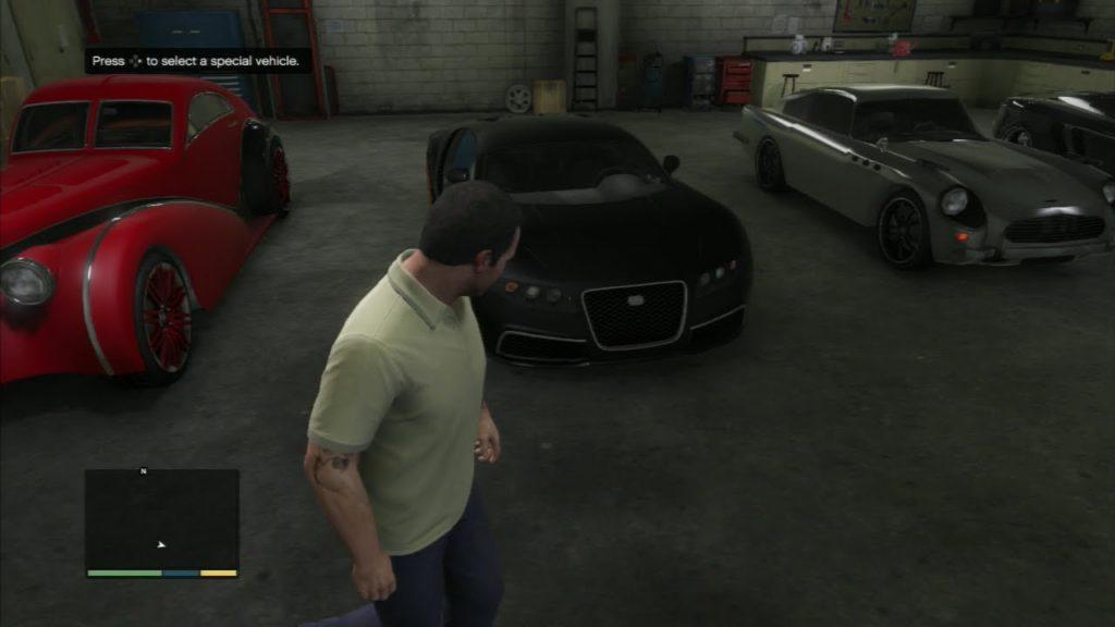 mendapatkan kendaraan spesial di gta 5