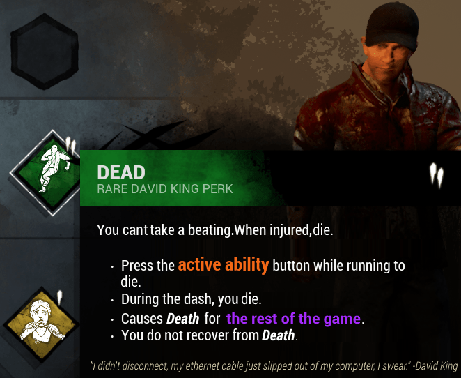 perks survivor terbaik dead by daylight indonesia