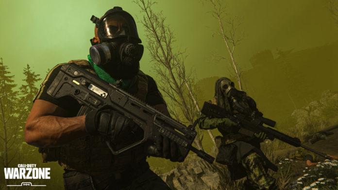senjata di call of duty warzone