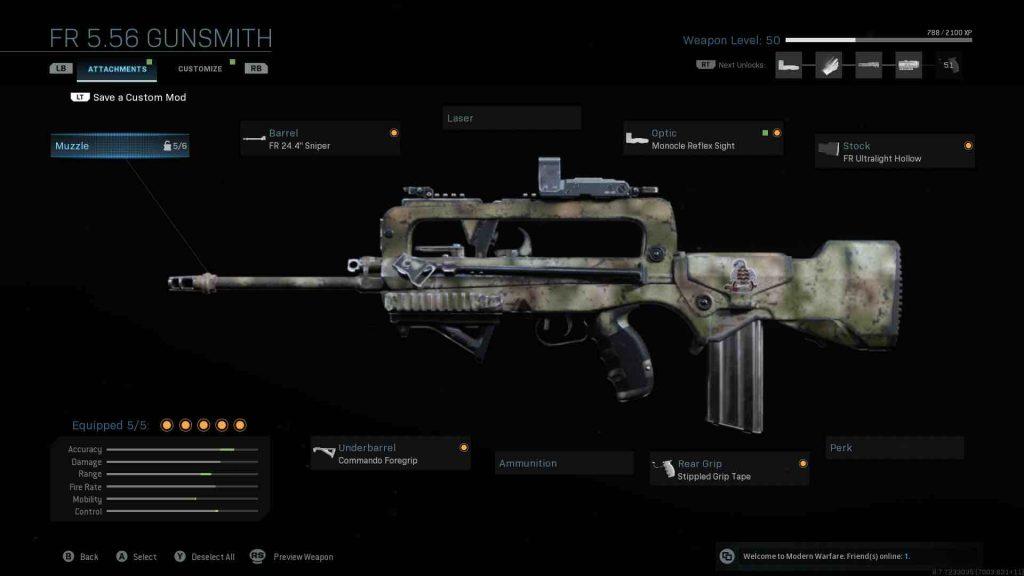 senjata terbaik di call of duty warzone