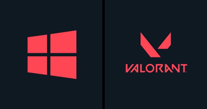 spesifikasi pc atau laptop untuk bermain valorant