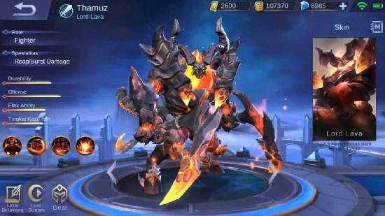 hero fighter mobile legends