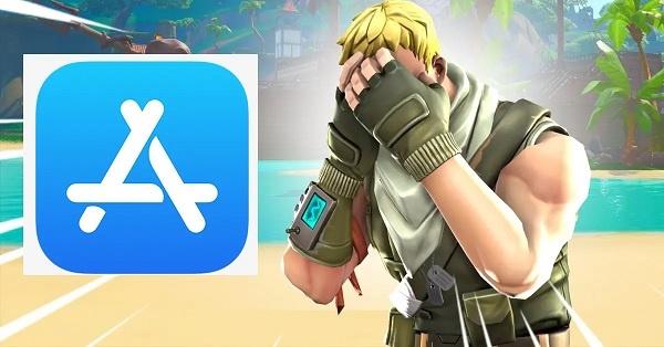 apple hapus fortnite dari app store