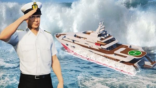cara mendapatkan pakaian kapten kapal yacth gta online