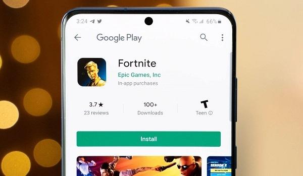 google hapus fortnite dari play store