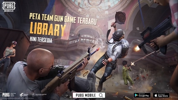 pubg mobile map library