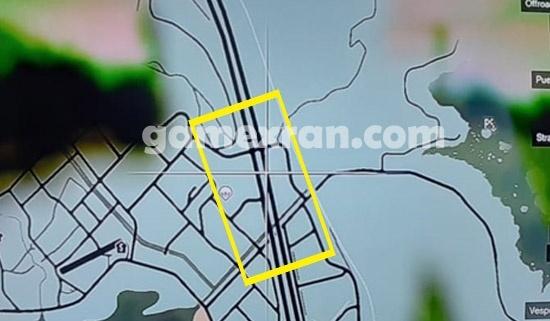 lokasi motor polisi langka di gta 5