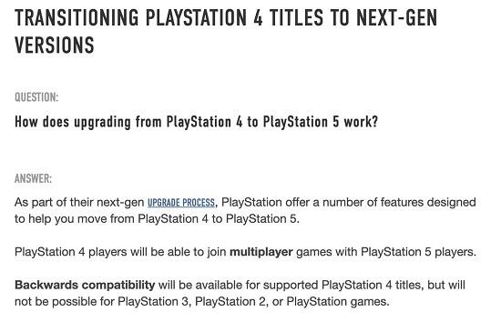 playstation 5 tidak dapat memainkan game ps3 ps2 ps1