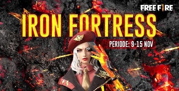 9999 diamond di event spin iron fortress free fire
