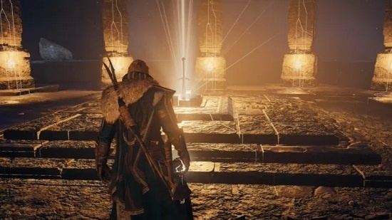 pedang excalibur assassin's creed valhalla