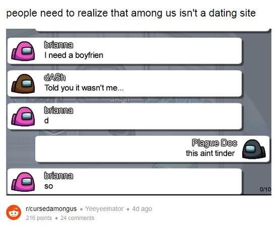 pemain manfaatkan among us untuk cari pacar