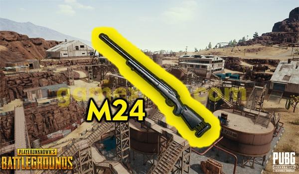 5 lokasi senjata m24 di miramar pubg mobile