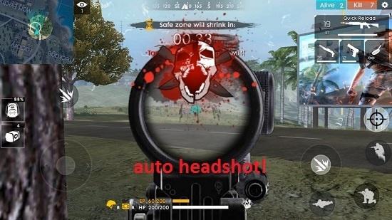 cara setting sensitivitas free fire (ff) auto headshot