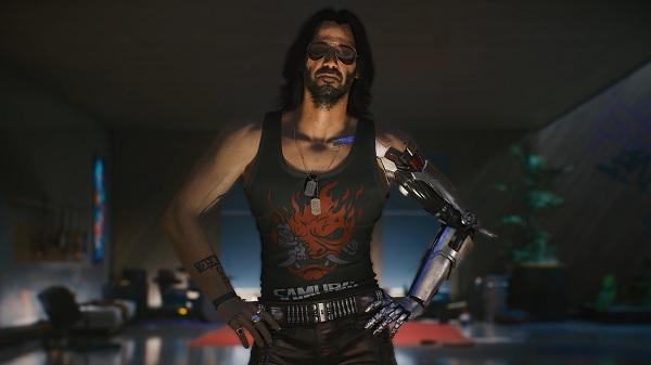 lokasi bertemu johnny silverhand di cyberpunk 2077