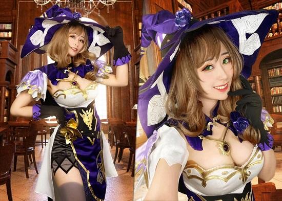 cosplay genshin impact tercantik 1
