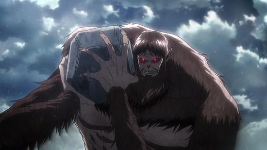 titan terkuat di attack on titan