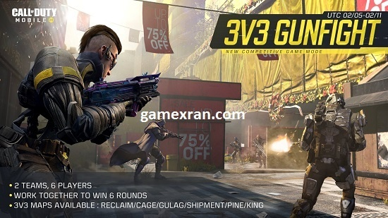 call of duty mode 3v3 gunfight, begini cara mainnya