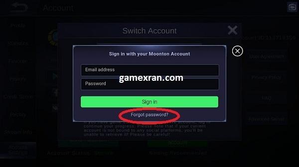 cara ganti password moonton, mudah cuma 5 menit