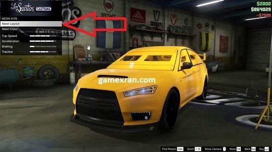 ternyata ini cara modif lampu neon mobil di gta 5