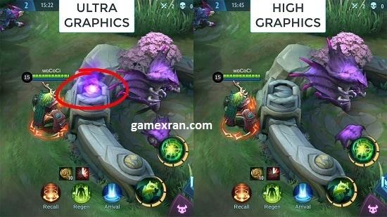 cara unlock setting ultra 60fps mobile legends